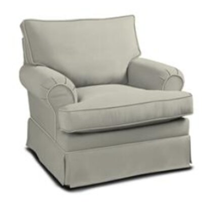 Clay Arm Chair Color: Belsire Grey