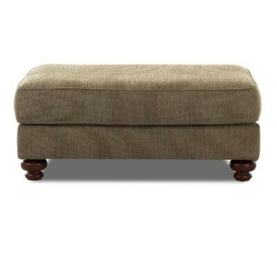 Conway Ottoman Upholstery: Clovis Toffee