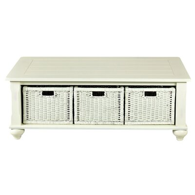 Cutler White Coffee Table