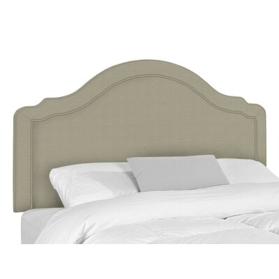 Mill Upholstered Panel Headboard Size: Queen, Upholstery: Seagull