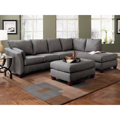 Higgins Sectional with Ottoman