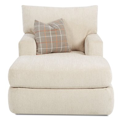Simms Chaise Lounge Color: Oatmeal