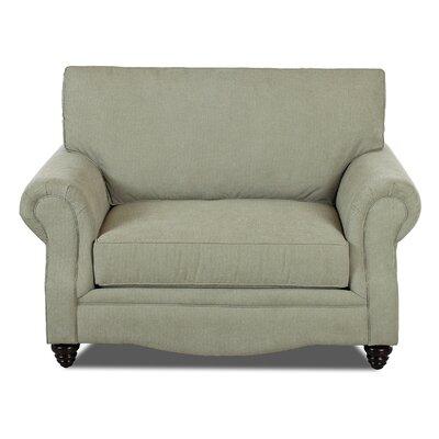 Raymond Big Chair and a half Upholstery: Eucalyptus