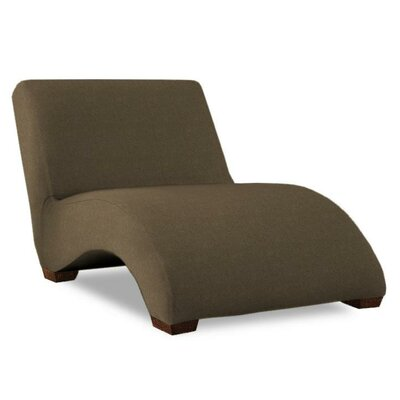 Hale Chaise Lounge Upholstery: Dark Brown