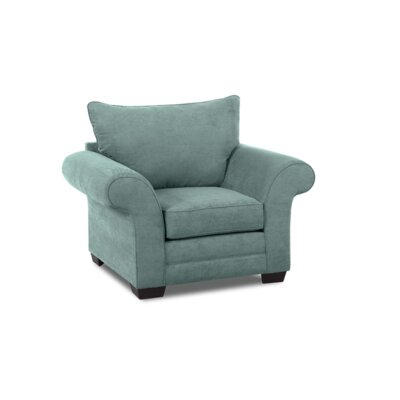 Bart Chair and a half Upholstery: Marine