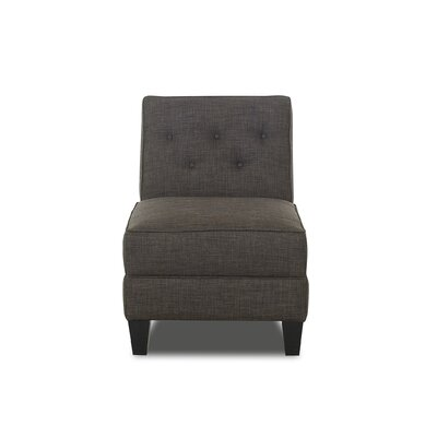 Bellamy Armless Slipper Chair Upholstery: Charcoal