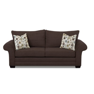 Bart Queen Dreamquest 93 Sleeper Sofa Upholstery: Brown