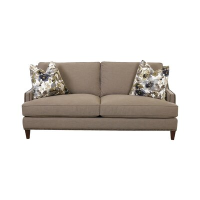 Larson Sofa with Toss Pillows Upholstery: Lizzy Hemp