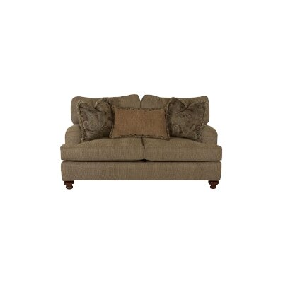 Conway Loveseat Upholstery: Clovis Toffee
