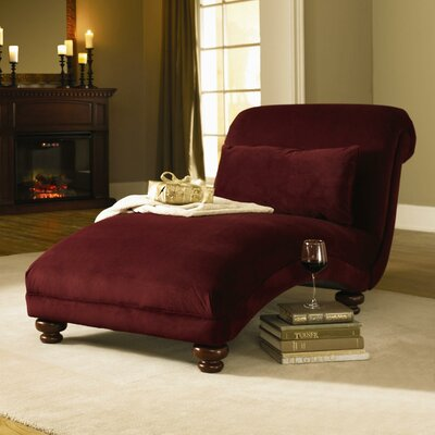 West Chaise Lounge Upholstery: Belsire Black