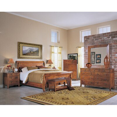 Baxter Sleigh Configurable Bedroom Set