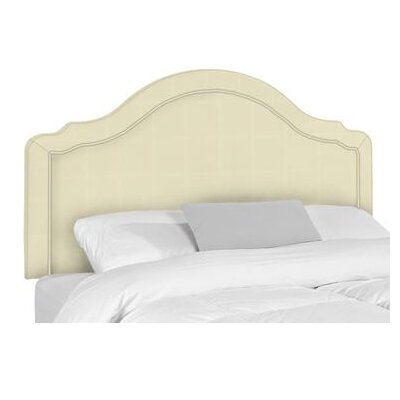 Mill Upholstered Panel Headboard Size: King, Upholstery: Bull Natural