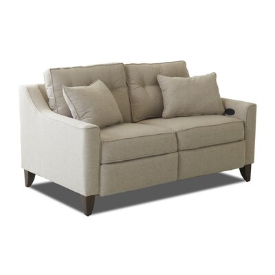 Custom Upholstery™ CSTM2099 Logan Reclining Loveseat