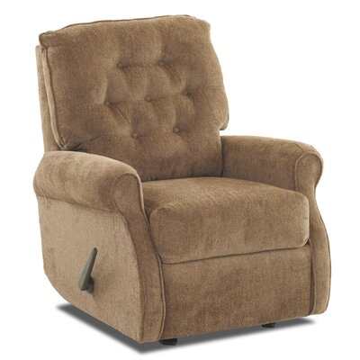 Ferdinand Rocking Recliner Upholstery: Furby Leather