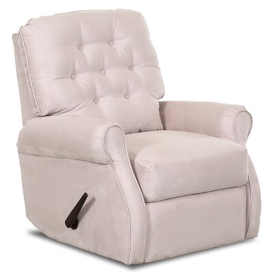 Ferdinand Rocking Recliner Upholstery: Microsuede Oyster