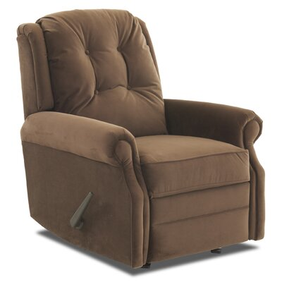Ferguson Rocking Recliner Upholstery: Tina Darkbrown