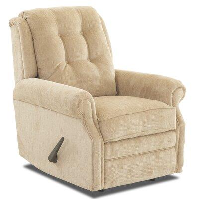 Ferguson Rocking Recliner Upholstery: Furby Oatmeal