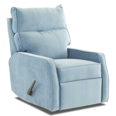 Ferncliff Rocking Recliner Upholstery: Tina Airforce