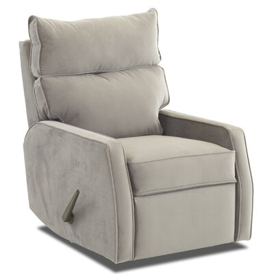Ferncliff Rocking Recliner Upholstery: Oakley Graphite
