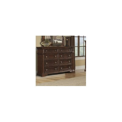 Harris 8 Drawer Double Dresser with Mirror
