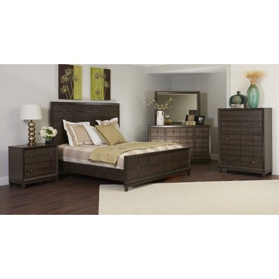 Amabilia Panel Customizable Wood Bedroom Set
