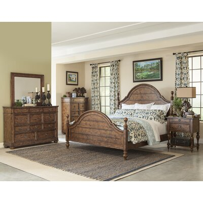 Peatman Four Poster Customizable Bedroom Set