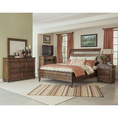 Peatman Sleigh Customizable Bedroom Set