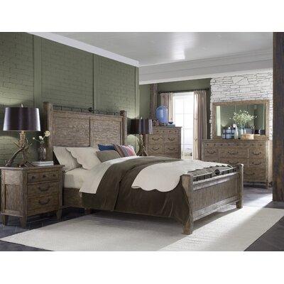 Holden Panel Customizable Wood Bedroom Set