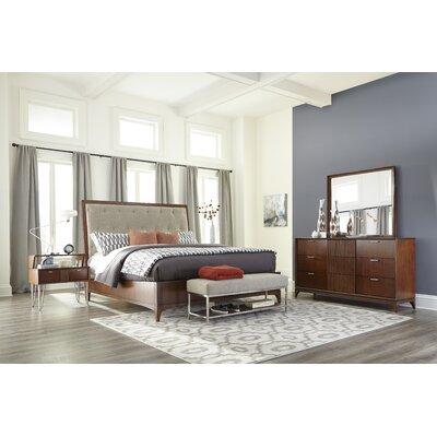 Caitlin Platform Customizable Wood Bedroom Set
