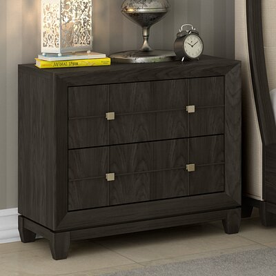 Amabilia 2 Drawer Nightstand