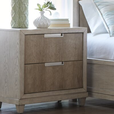 Smithson 2 Drawer Nightstand