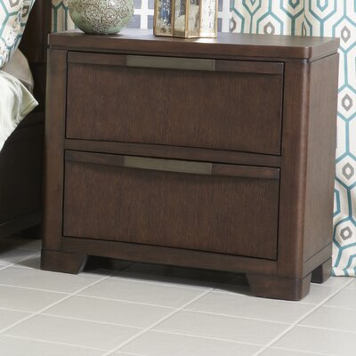 Felica 2 Drawer Nightstand