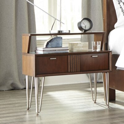 Caitlin 1 Open Drawer Nightstand