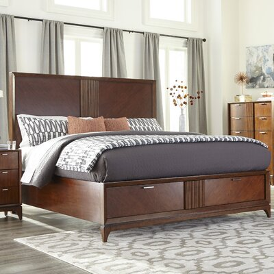 Caitlin Complete Storage Panel Bed Size: King