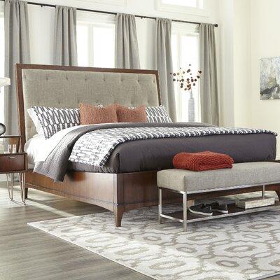 Caitlin Complete Upholstered Platform Bed Size: King
