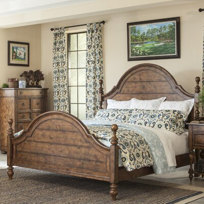 Peatman Four Poster Bed Size: King