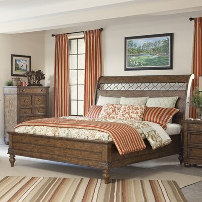 Peatman Sleigh Bed Size: Queen