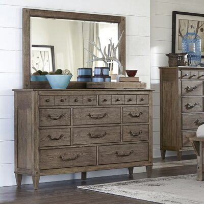 Holden 10 Drawer Dresser with Mirror