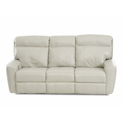 Chau Solid Power Reclining Sofa