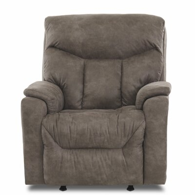 Kam Power Rocker Recliner Upholstery: Endeavor Pewter