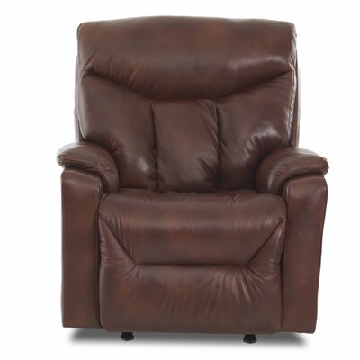 Kam Modern Power Rocker Recliner Upholstery: Alfresco Hickory