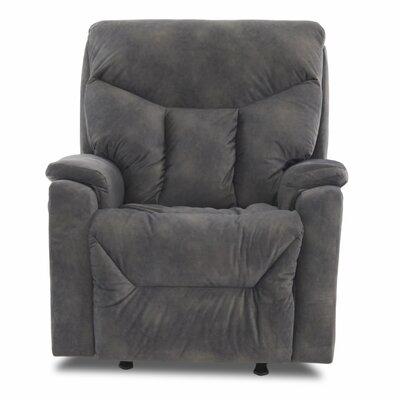 Kam Power Rocker Recliner Upholstery: Hogan Thunder