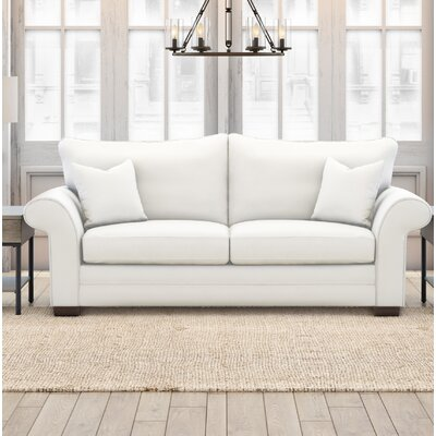 Phylicia Loveseat Upholstery: Classic Bleach