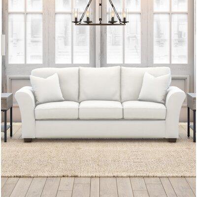 Plourde Sofa Upholstery: Classic Bleach