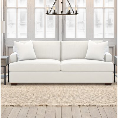 Langtry Loveseat Upholstery: Classic Bleach