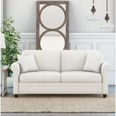 Wheeler Loveseat Upholstery: Classic Bleach