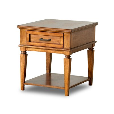 Buy Low Price Klaussner Furniture Concord End Table in Contemporary Oak (KLF2656)