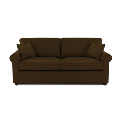 Madison Queen Sleeper Sofa Upholstery: Chocolate