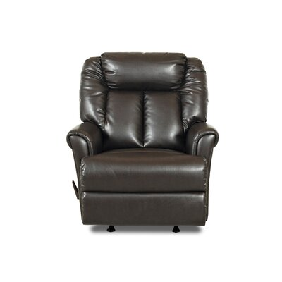Buy low price klaussner furniture garry bonded leather for Bonded leather chaise