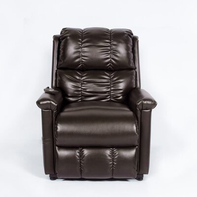 Buy low price klaussner furniture chaucer bonded leather for Bonded leather chaise